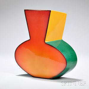 Fred Stodder Modernist Ceramic Vase