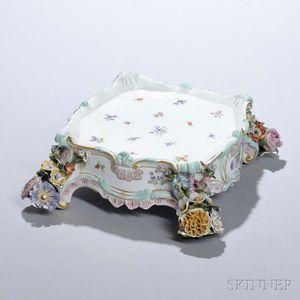 Meissen Porcelain Stand