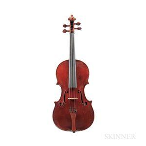 Violin, Emile Pouzol, 1937