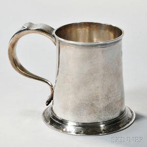 George II Provincial Sterling Silver Mug