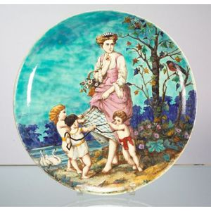 Minton Handpainted Earthenware Charger
