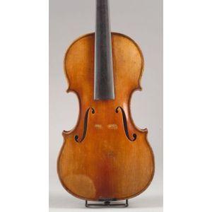 Violin, c. 1880, possibly Calvin Baker