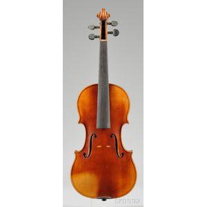 Markneukirchen Violin, Herman Todt, 1924