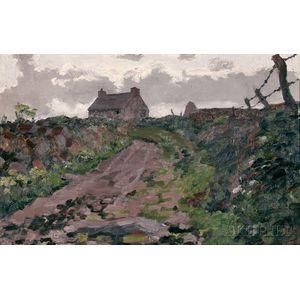 Jack Butler Yeats (Irish, 1871-1957)      A Lane in Kerry