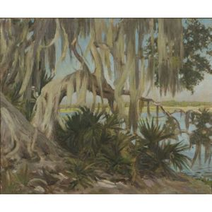 Helen Savier DeMond (American, 1872-1968)    Spanish Moss
