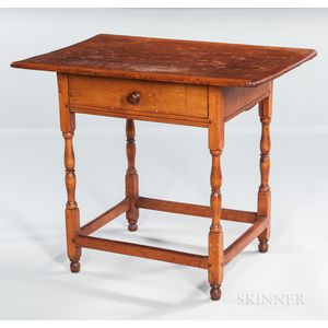 Small Pine and Maple Tavern Table