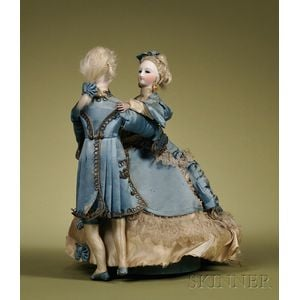 Vichy Waltzing Couple Musical Automaton