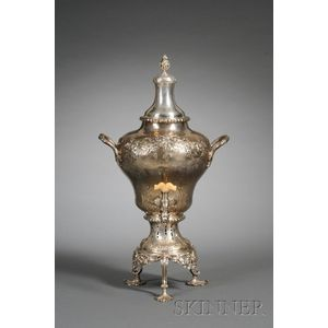 George III Silver Hot Water Urn