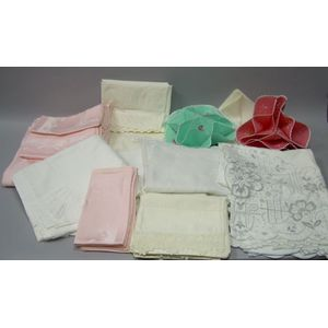 Lot of Assorted Household Linens