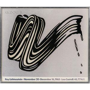 Roy Lichtenstein (American, 1923-1997)      Brushstroke