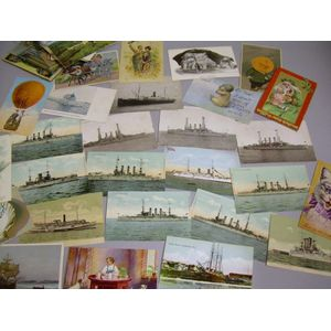 Small Group of 20th Century Postcards