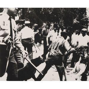 Andy Warhol (American, 1928-1987)      Birmingham Race Riot