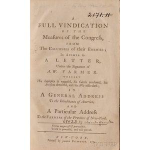 [Hamilton, Alexander, 1757-1804]