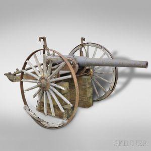 Spanish-American War Breech-loading Rifled Field Gun