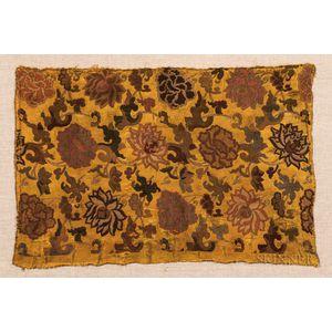 Silk Brocade Panel