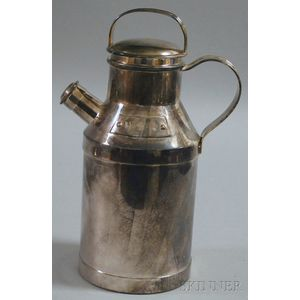 S&S Silver-plated Cocktail Shaker