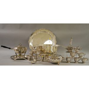 Rogers Silver-Plated Punch Serving Set