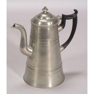 Pewter Coffeepot