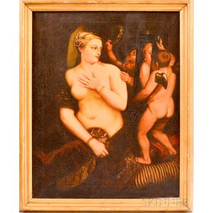 European School, 19th Century, After Titian    Venus