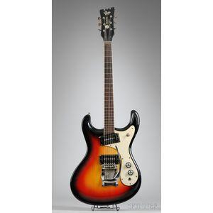 """American Electric Guitar, Mosrite of California, """"Ventures Model,"""" 1965"""