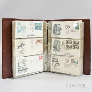 Group of 1950s and 60s U.S. First Day Covers