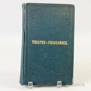 Theatre Programmes   Scrapbook