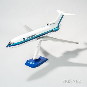 Eastern Whisperjet Boeing 727 Promotional Aviation Model and Display Plinth