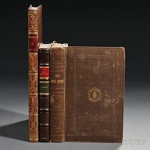 Beekeeping, Three Titles in English, 1744-1842.