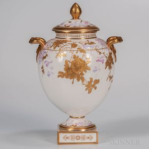 Wedgwood Bone China Vase and Cover