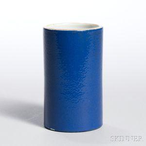 Monochrome Blue-glazed Bitong