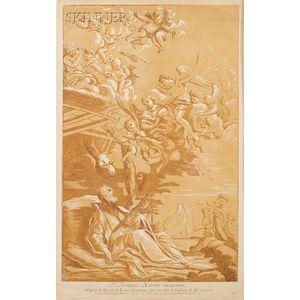 Nicolas Le Sueur (French, 1690-1764), Charles Nicolas Cochin the Elder (French, 1688-1754), Paul Ponce Ant...