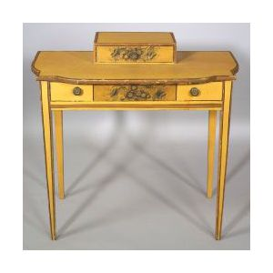 Federal Paint Decorated Dressing Table
