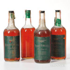 Boardmans DeLuxe 4 Years Old, 4 quart bottles