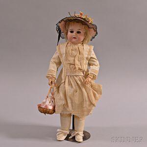 Armand Marseille Bisque Shoulder Head Doll