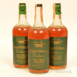 Boardmans DeLuxe 4 Years Old, 3 quart bottles