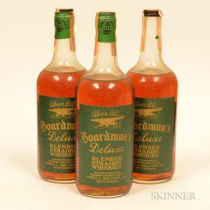 Boardmans DeLuxe 4 Years Old, 3 quart bottles