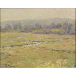 Edwin R. Maynard (American, 1870-1921)    Grey Morning