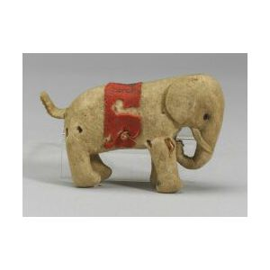 Small Early Felt Steiff Elephant