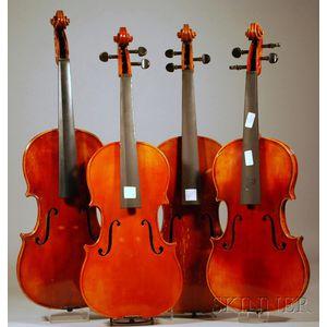Four Modern German Violas