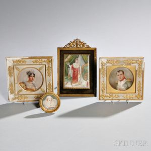 Four Miniature Portraits