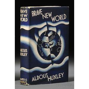 Huxley, Aldous (1894-1963) Brave New World