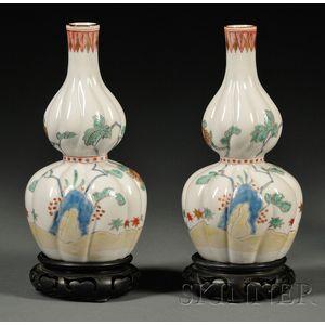 Pair of Kakiemon Vases
