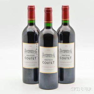 Chateau Coutet 2005, 3 bottles