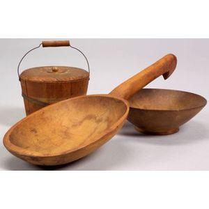 Three Wooden Items