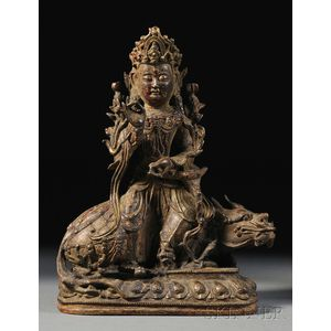 Bronze Buddhist Figure