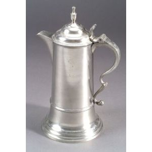 Three Quart Pewter Flagon
