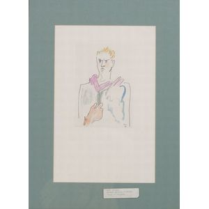 Jean Cocteau (French, 1889-1963)      Homme