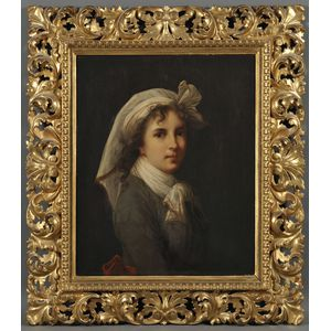 After Elisabeth Louise Vigée Le Brun (French, 1755-1842)      Copy of the St. Luca Self Portrait, 1790