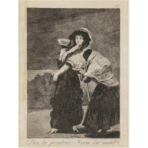 Francisco José de Goya y Lucientes (Spanish, 1746-1828)      Diosla perdone: y era su madre