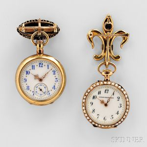 Two Jewel-set Ladies